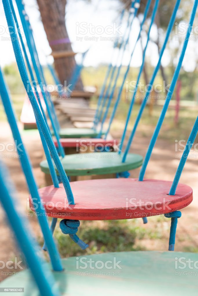 Obstacles on path concept for problem solving stock photo