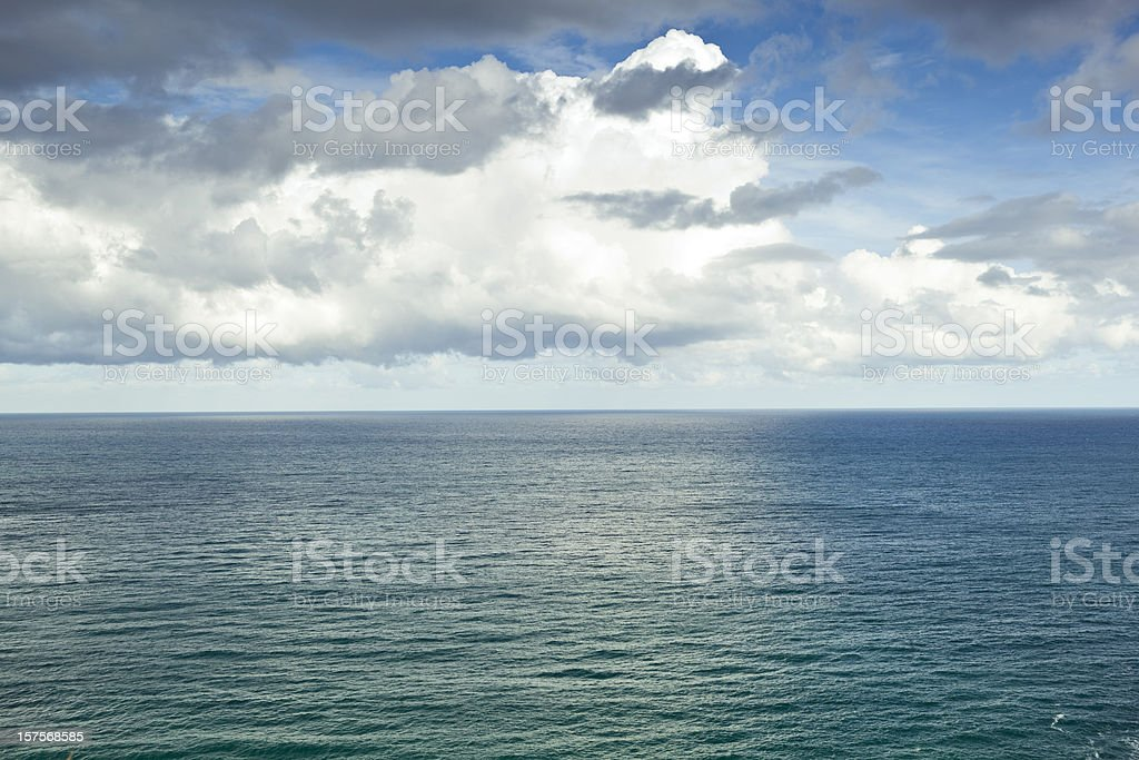 Océan background stock photo