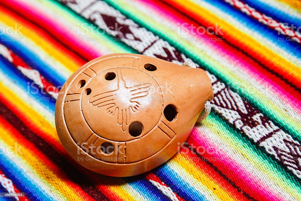 Ocarina stock photo