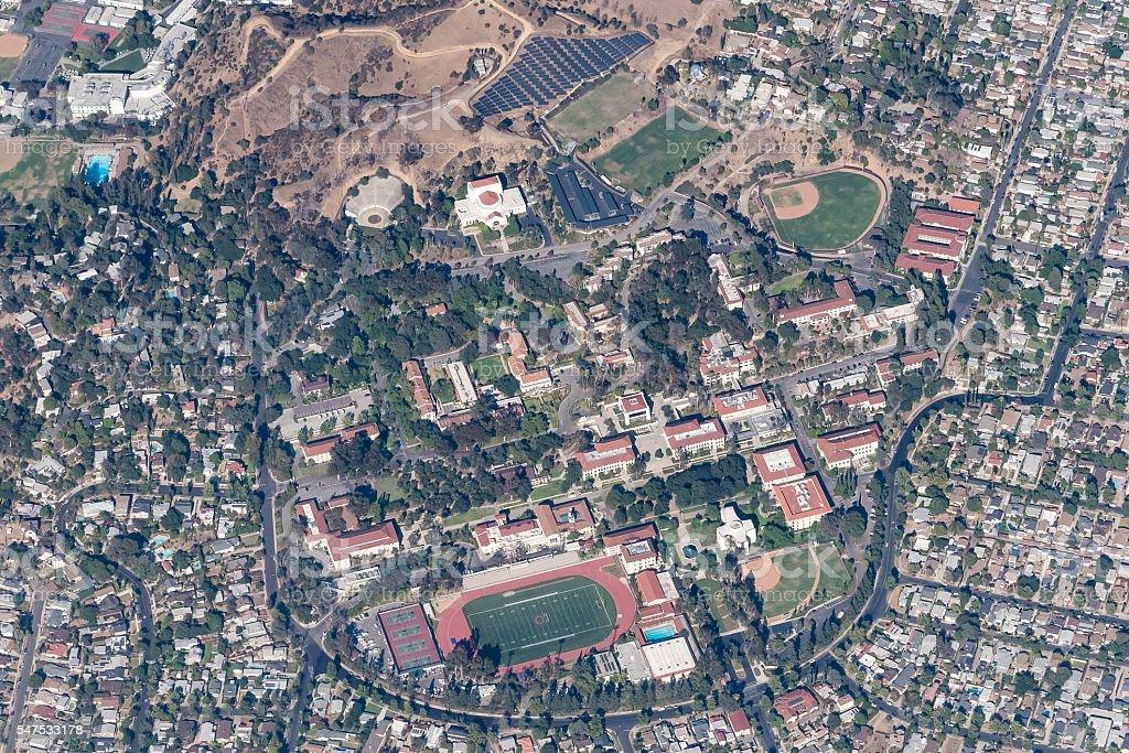 Occidental College stock photo