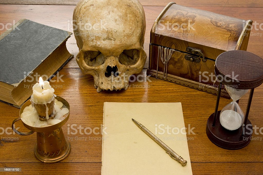 Occult Symbolism royalty-free stock photo