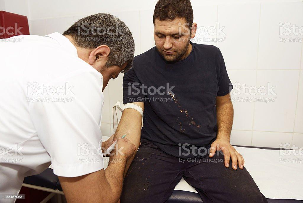 Occupational Health stock photo