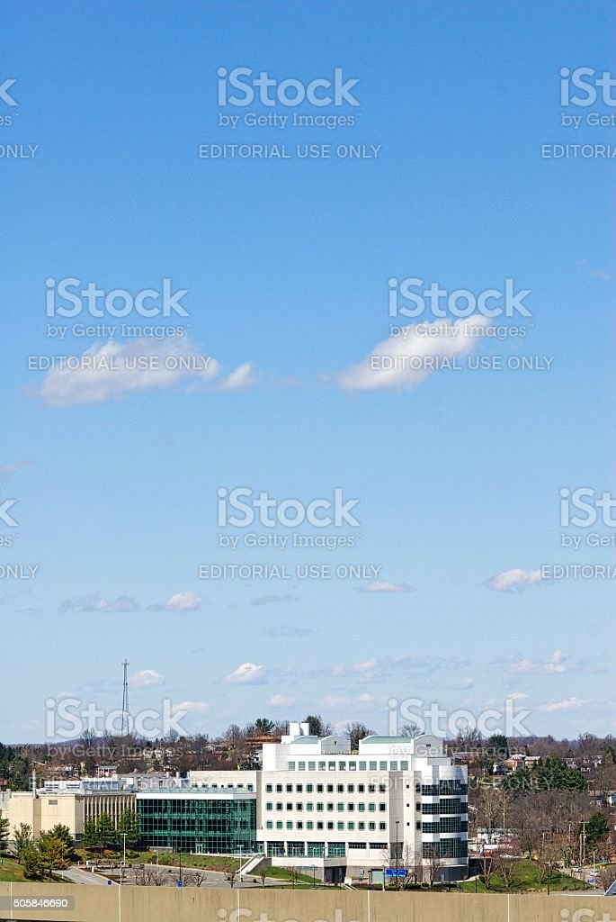 Occupational Safety and Health Adminstration (OSHA) Building stock photo