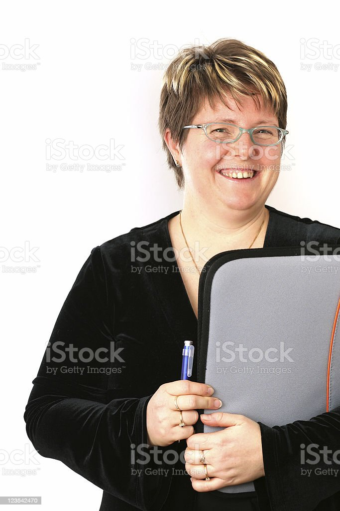 Occupations - teacher royalty-free stock photo