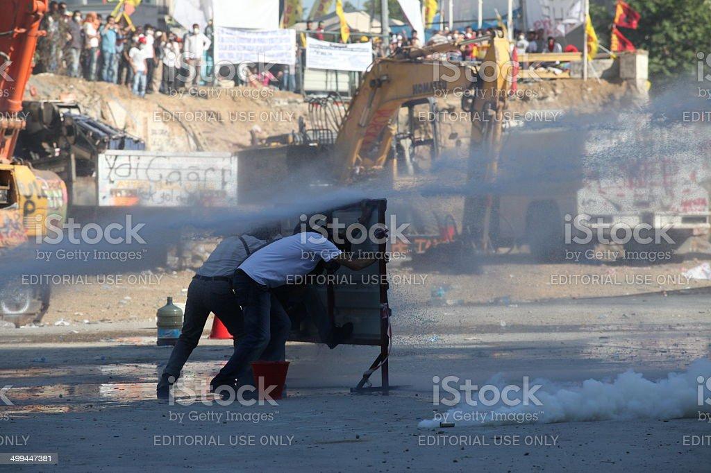 Occupy Gezi stock photo