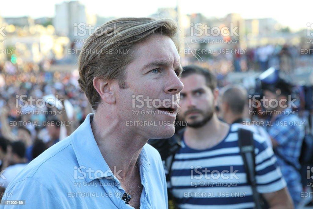 Occupy Taksim stock photo
