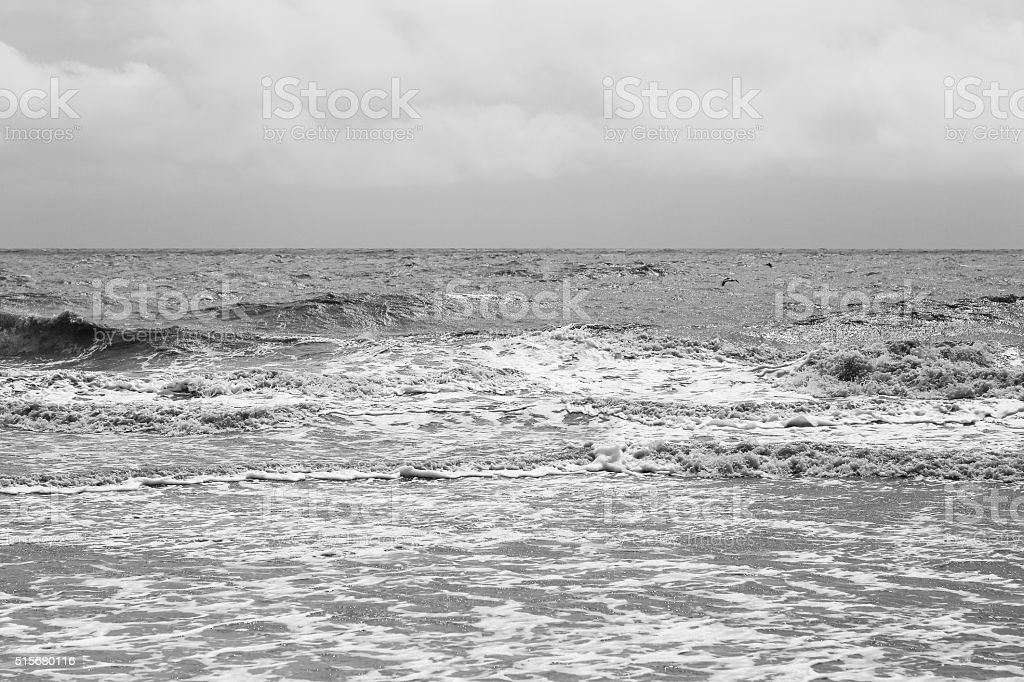 Ocean and Clouds stock photo