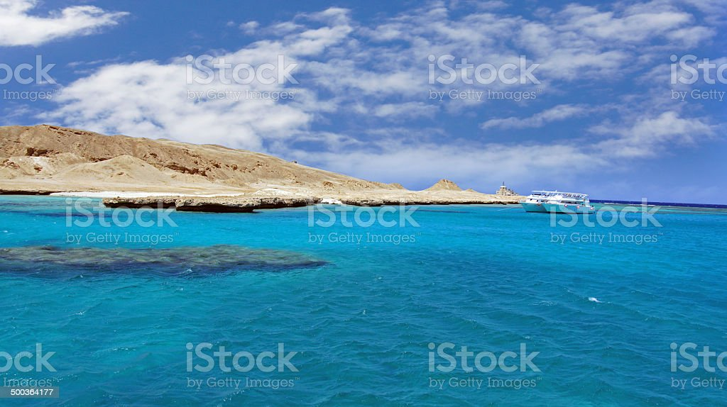ocean and reef stock photo