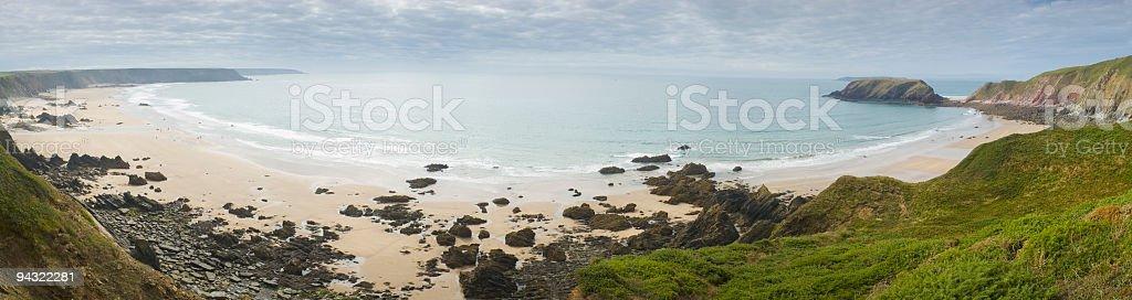 Ocean bay royalty-free stock photo