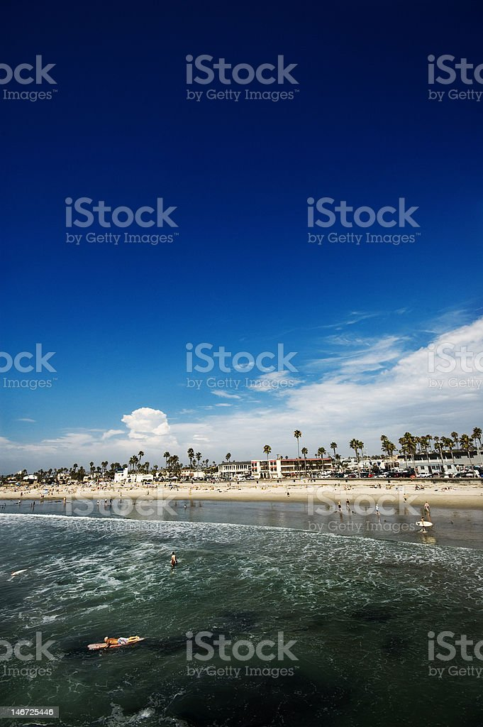 Ocean Beach royalty-free stock photo