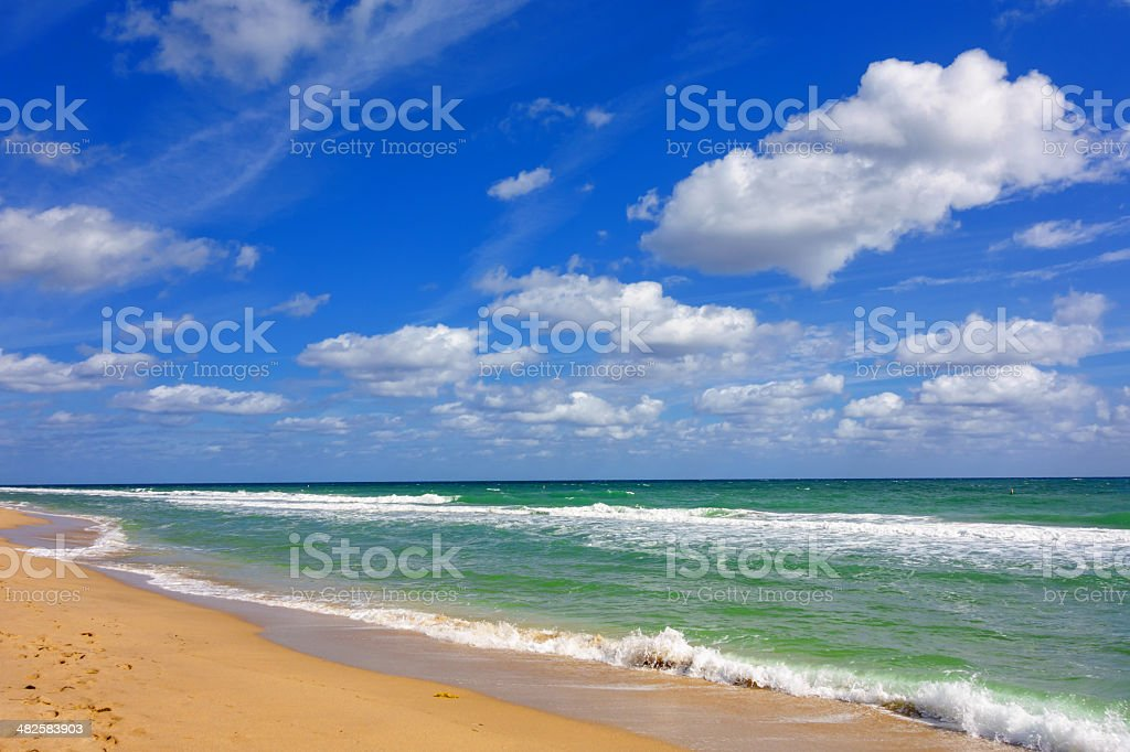 Ocean Beach royalty-free stock photo