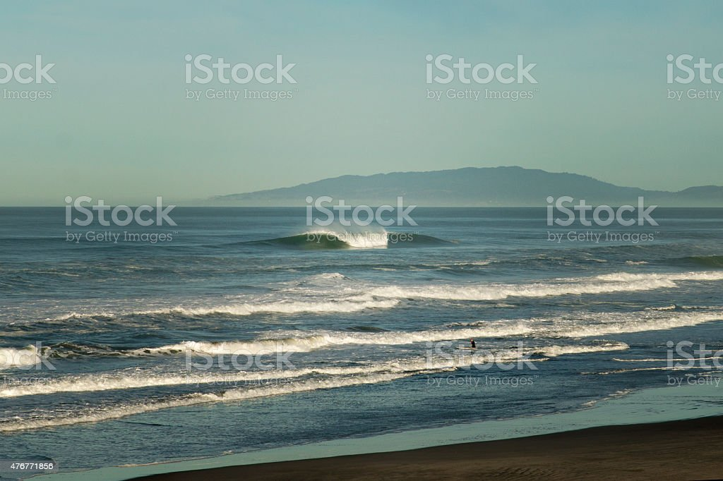 Ocean Beach - San Francisco stock photo