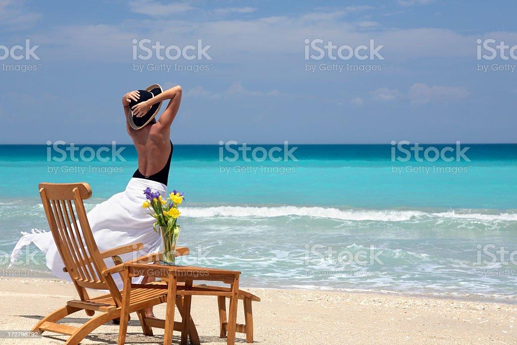 ocean breeze royalty-free stock photo