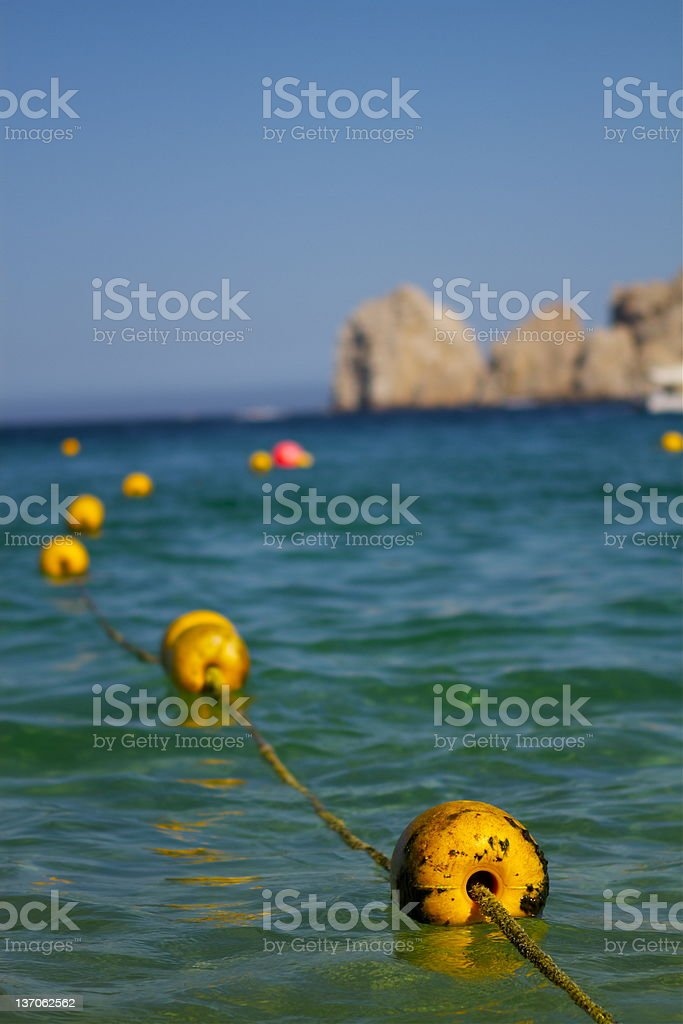 Ocean Buoy royalty-free stock photo