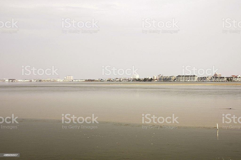 Ocean city Skyline stock photo