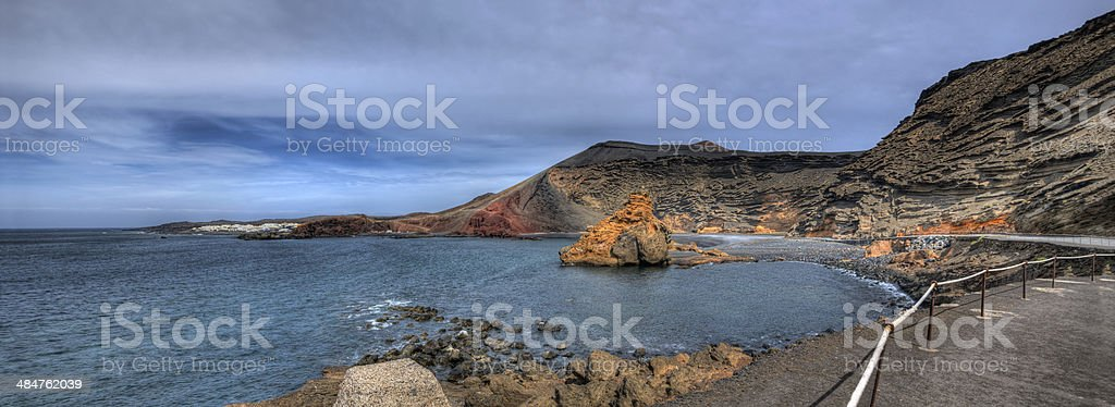 Ocean cliff royalty-free stock photo
