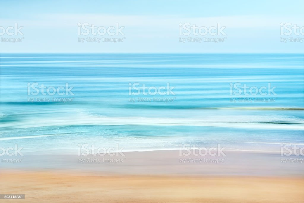Ocean Coast stock photo