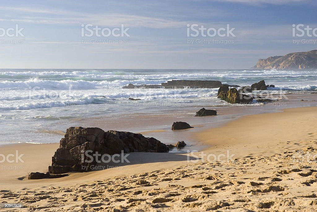 ocean coast royalty-free stock photo