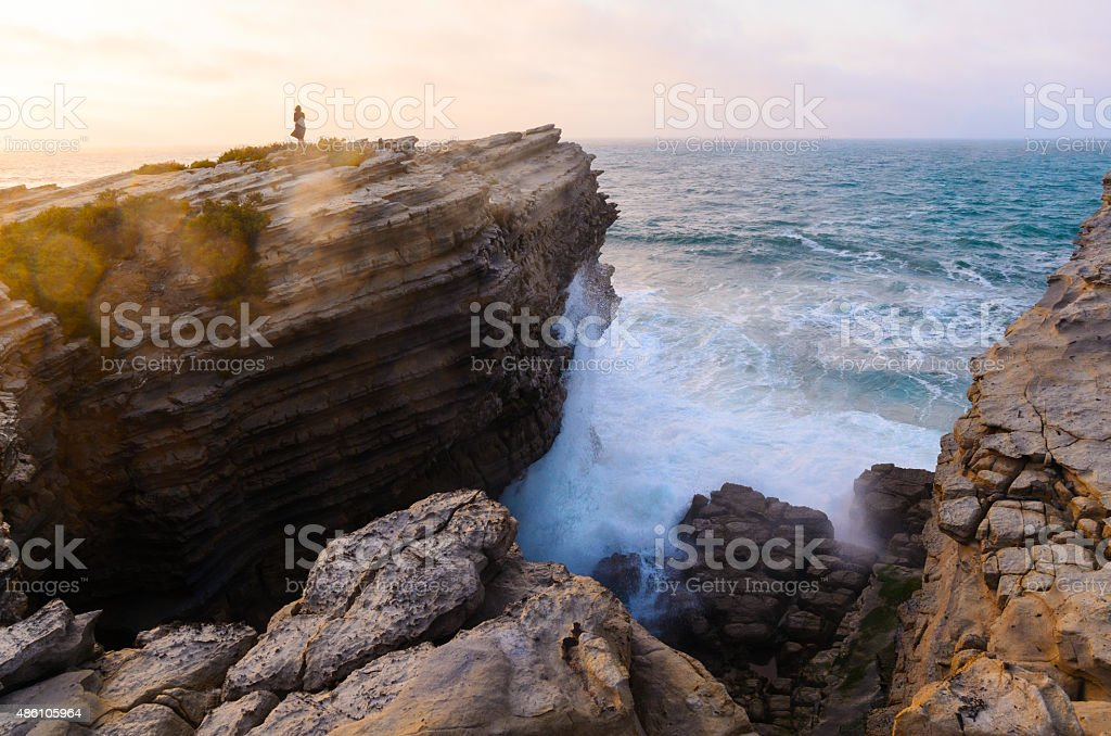 ocean coastline stock photo
