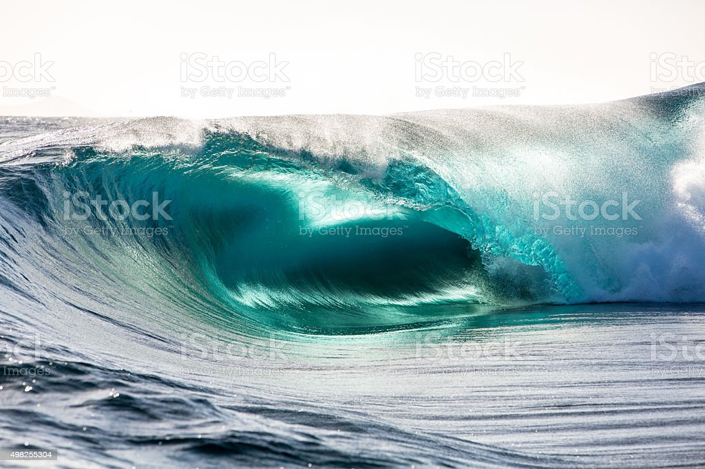 Ocean colours stock photo