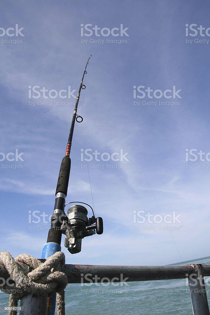 ocean fishing royalty-free stock photo