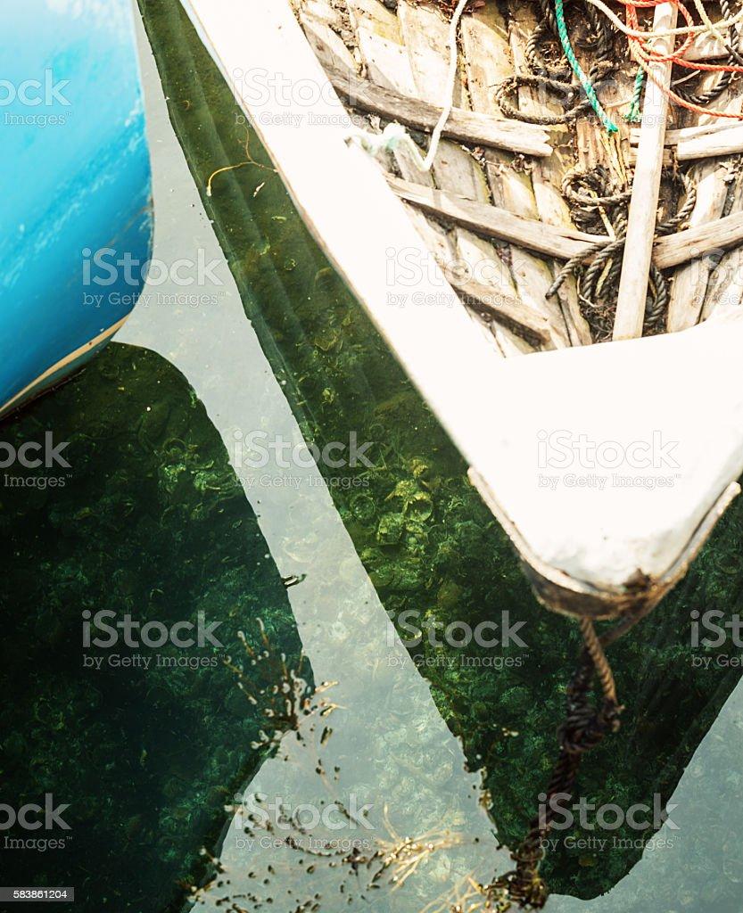 Ocean Floor Below stock photo