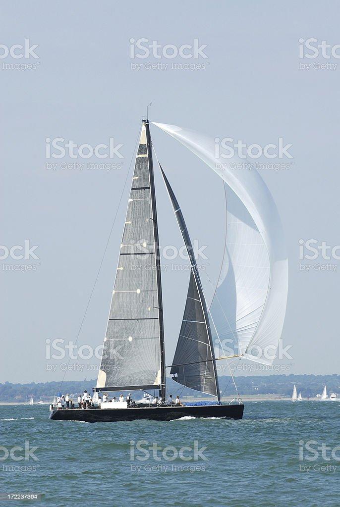 Ocean Going Yacht stock photo