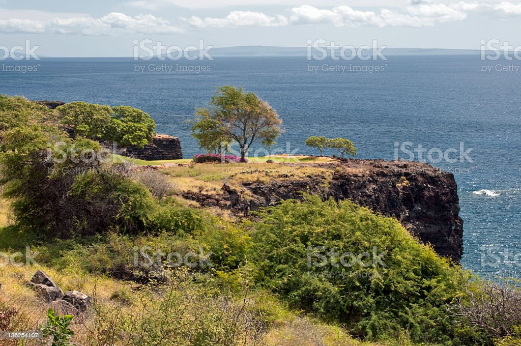 Ocean Golf stock photo