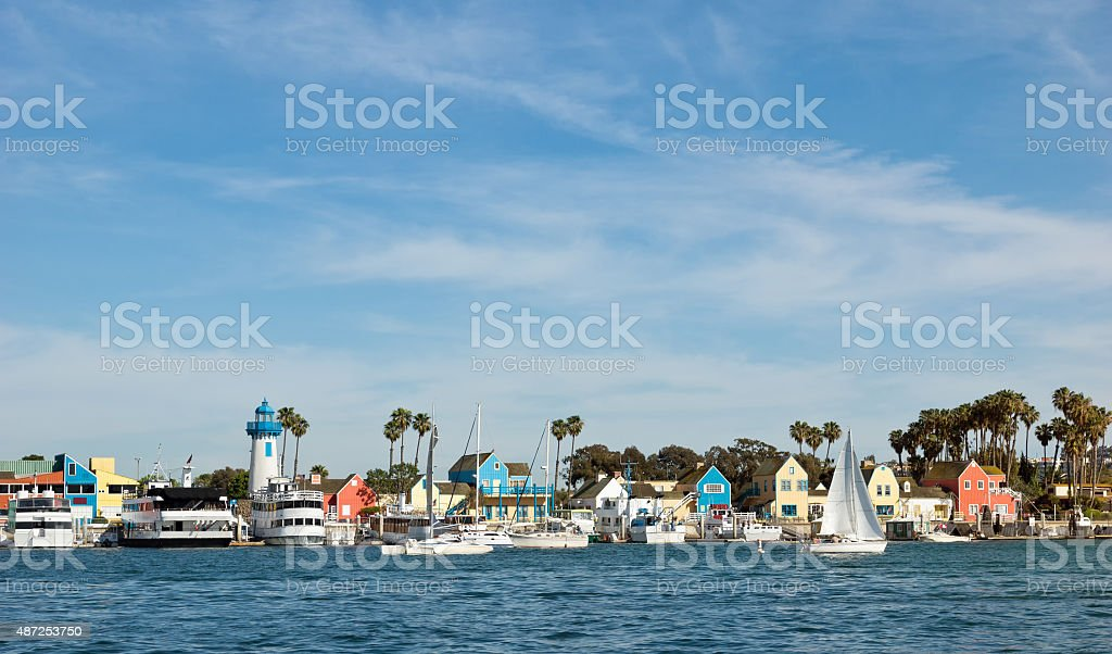 Ocean Harbor stock photo