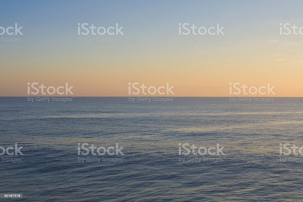 Ocean Horizon royalty-free stock photo