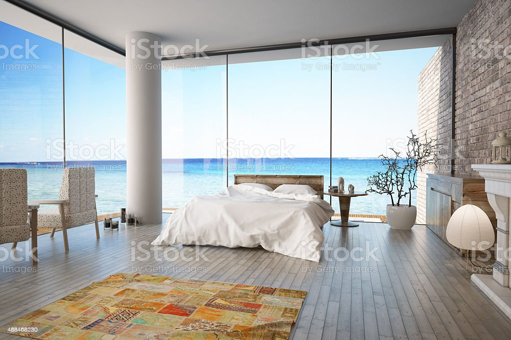 Ocean House stock photo