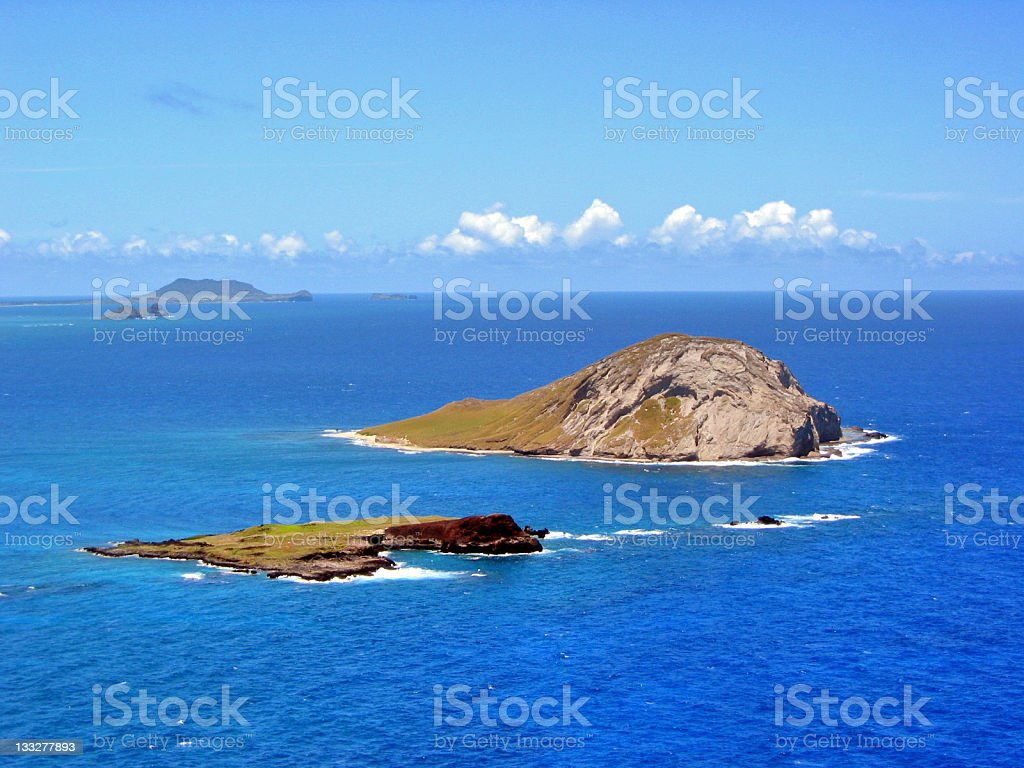 Ocean Islands royalty-free stock photo