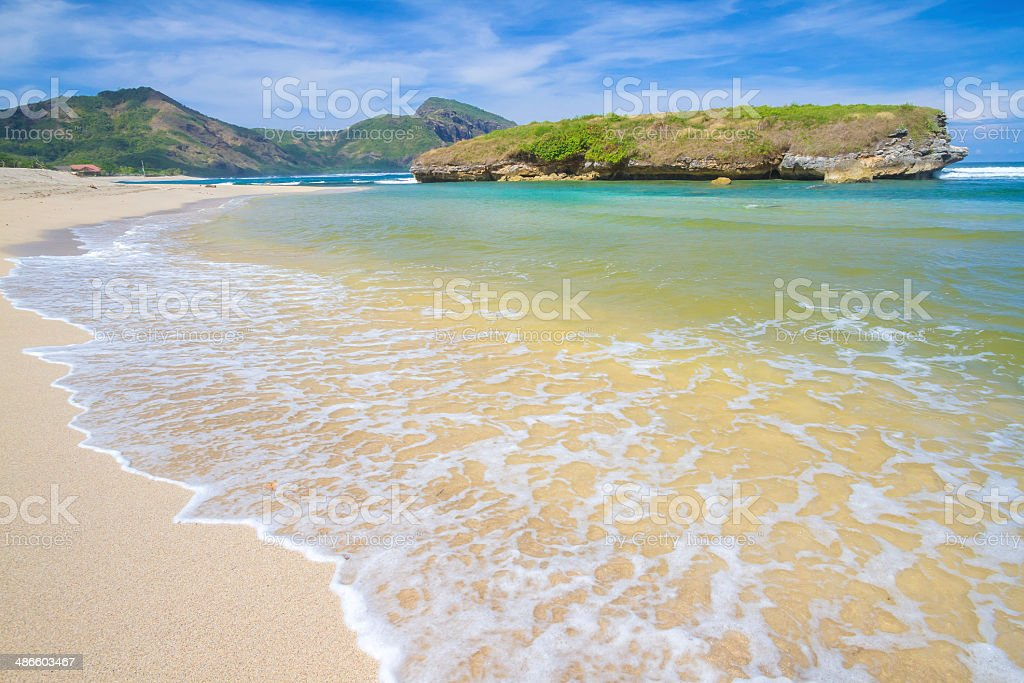 Ocean Landscape stock photo