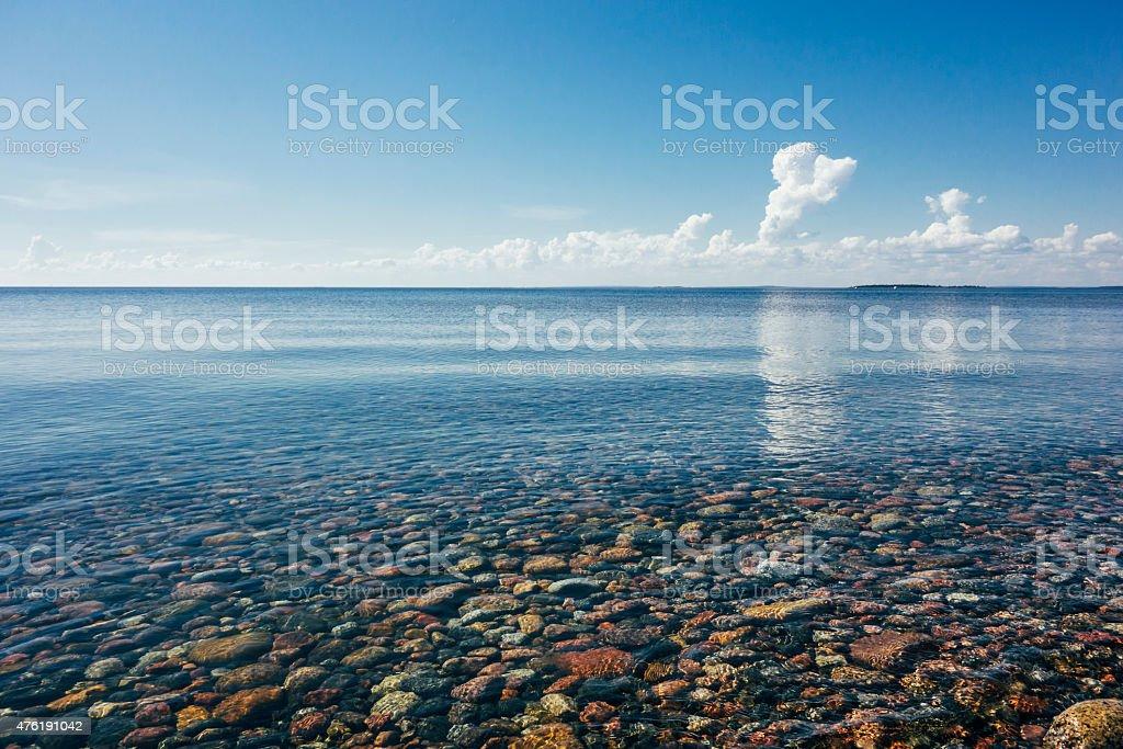 Ocean Lule? Archipelago stock photo