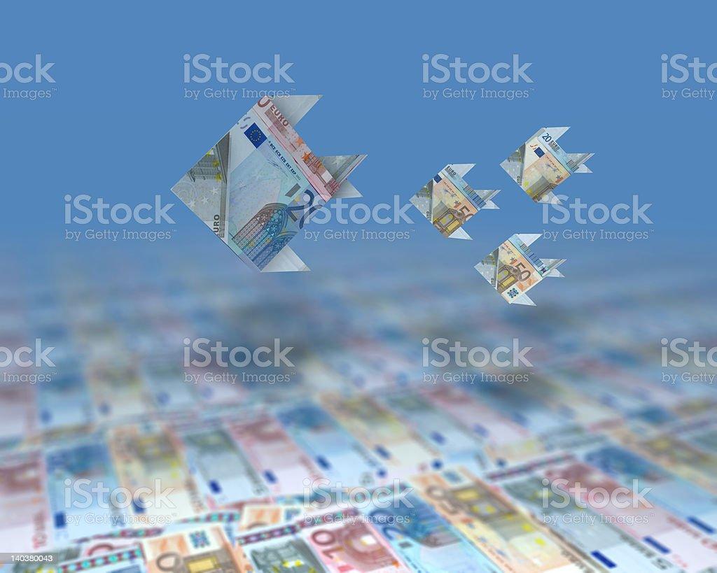 Ocean of Money stock photo