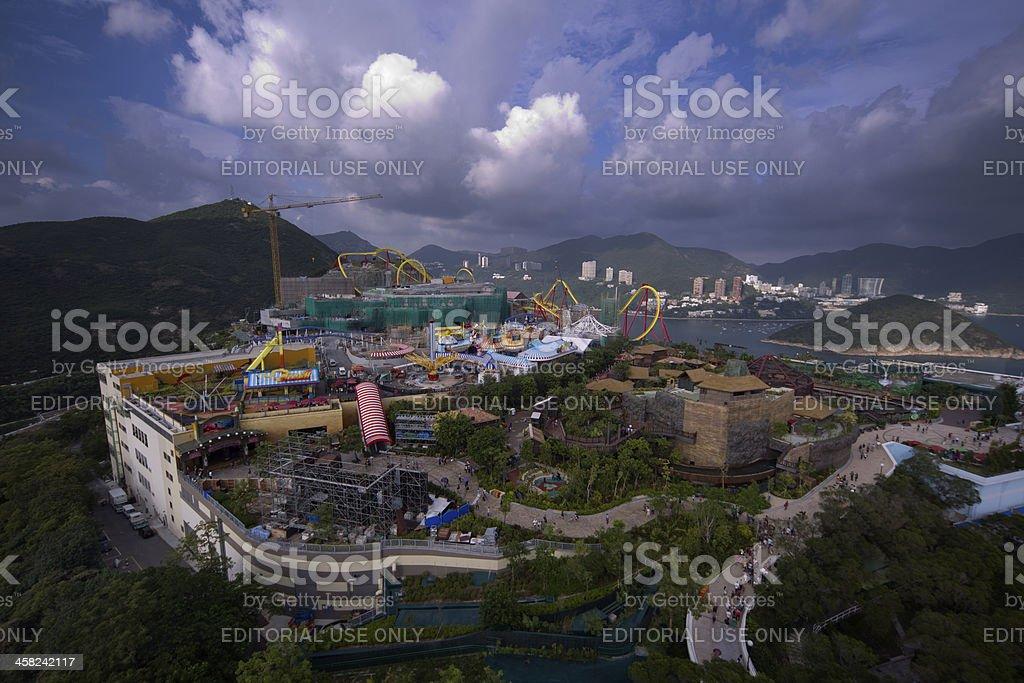 Ocean Park Hong Kong stock photo