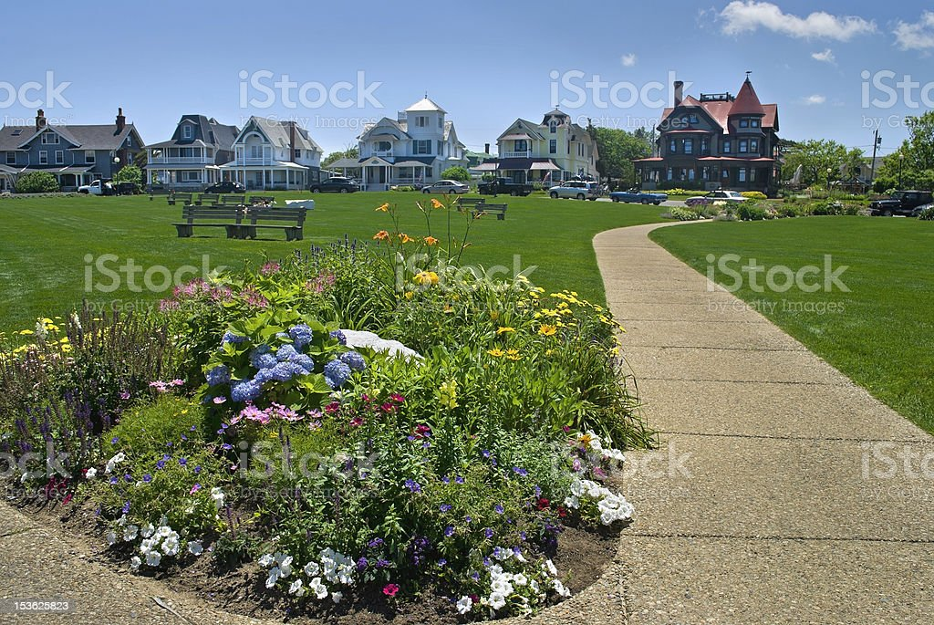 Ocean Park, Martha's Vineyard stock photo