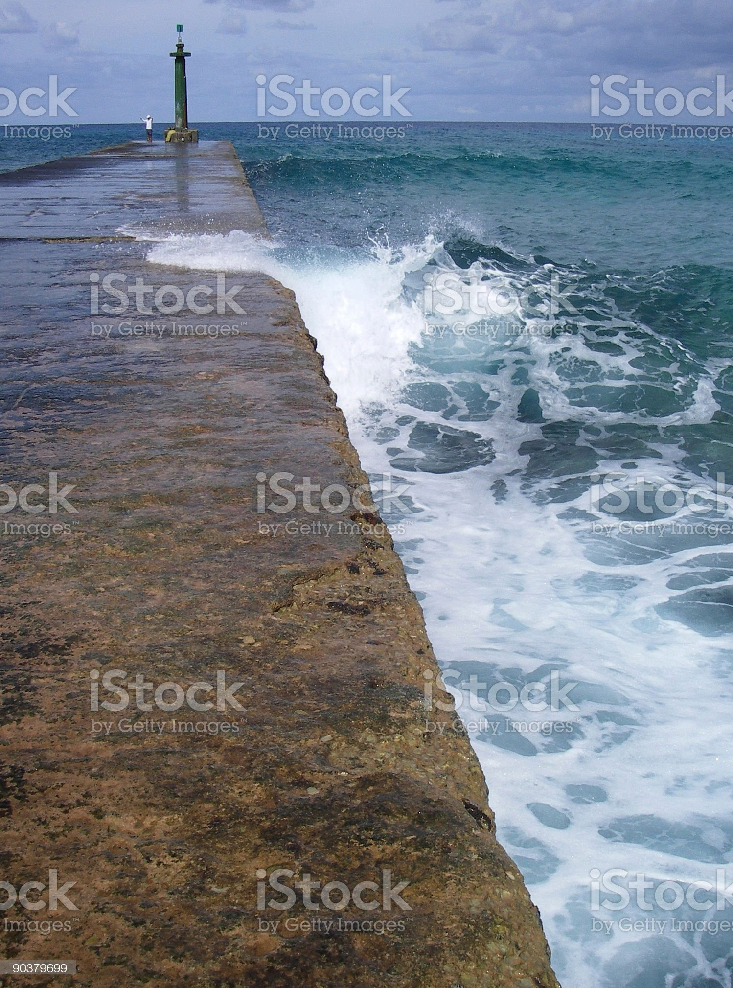 Ocean Pier royalty-free stock photo