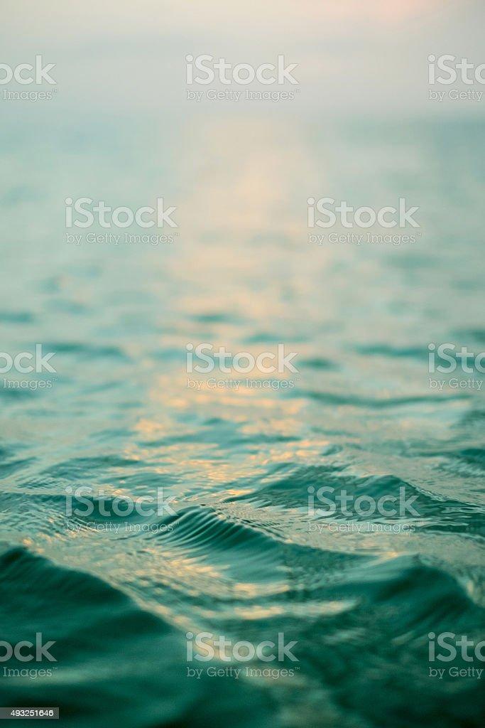 Ocean ripple stock photo