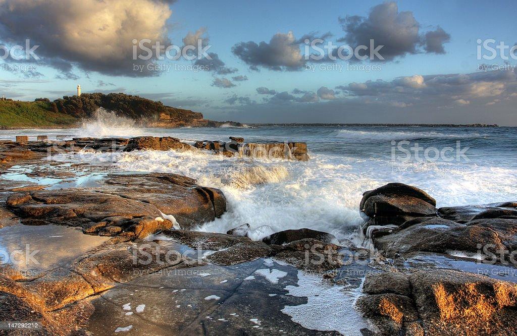 Ocean Rock Pool royalty-free stock photo