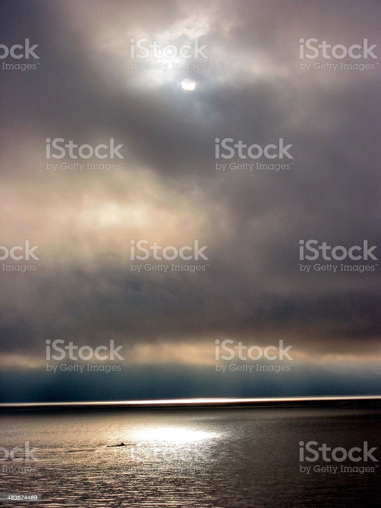 Ocean Storm royalty-free stock photo