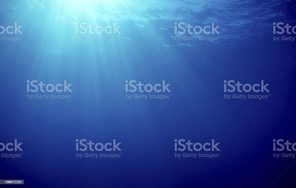 Ocean Sunbeams royalty-free stock photo