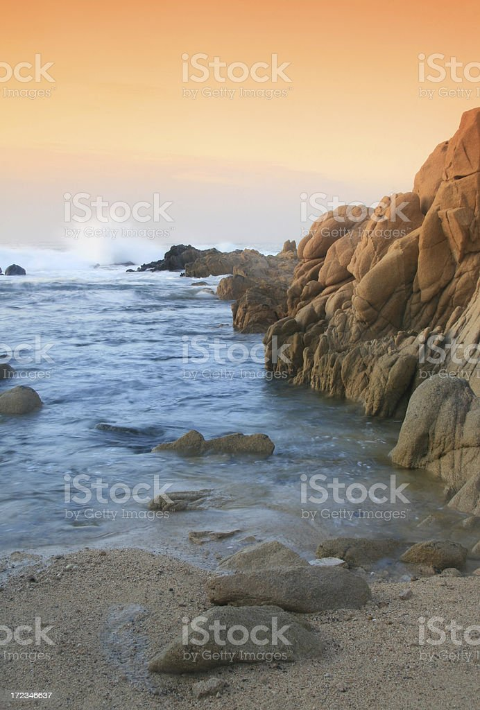 Ocean Sunrise stock photo