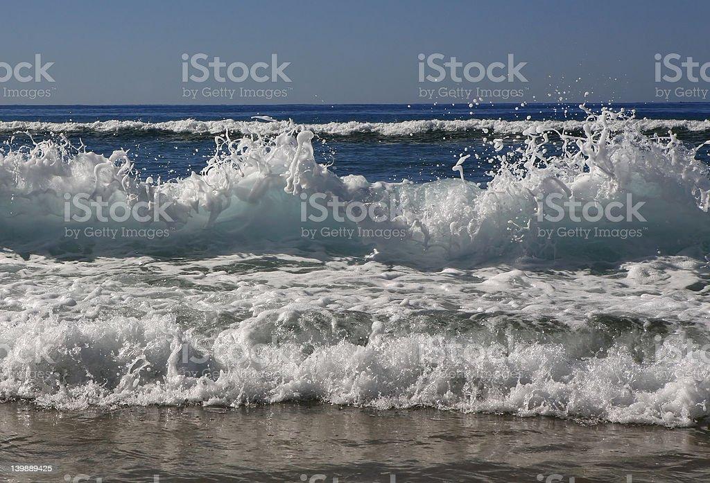 Ocean Surf royalty-free stock photo