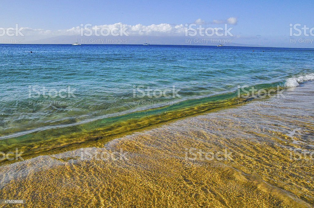 Ocean surf royalty-free stock photo