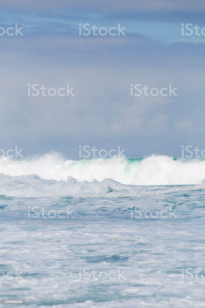 Ocean Swell stock photo