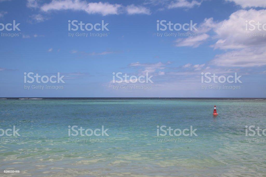 Ocean View,  Flic en Flac, Mauritius, Indian Ocean, Africa stock photo