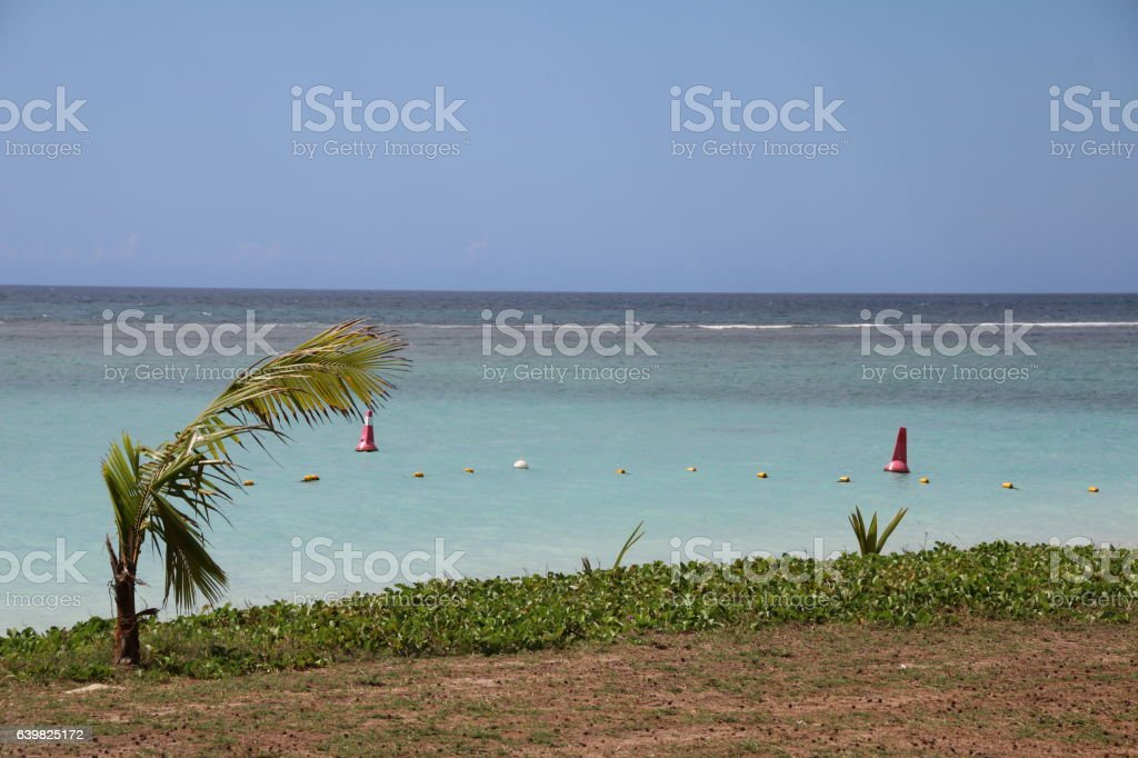 Ocean View, Flic en Flac, Mauritius, Indian Ocean, Africa stock photo