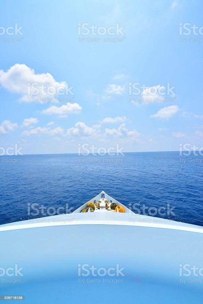 Fundos de vista de navio foto de stock royalty-free
