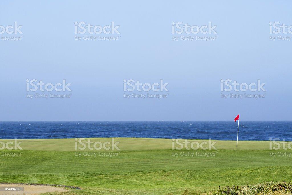 Ocean View Golf Course stock photo